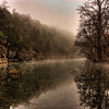 Richland Creek Foggy Reflections
