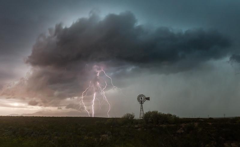 Windmill Lightning Man