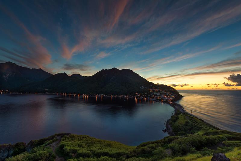 Sunrise of Scottshead, Dominica