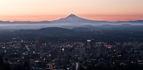 First Light In Portland