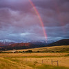Evening storm near Livingston, Montana