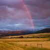 Evening storm near Livingston, Montana