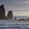 Haystack Rocks || Cannon Beach, Oregon, USA<br /> <br /> Canon EOS 6D w/ EF24-105mm f/4L IS USM: 93mm @ ¹⁄₂₅₀ sec, f/7.1, ISO 100