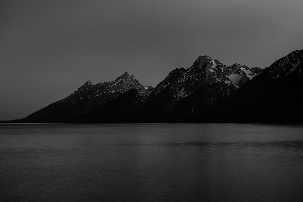 Tetons during Astronomical Twilight