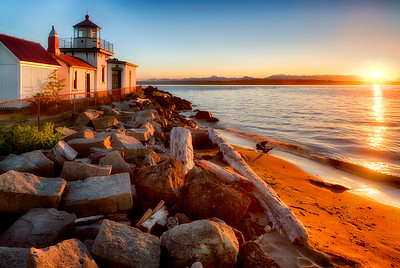 West Point Lighthouse, Discovery Park