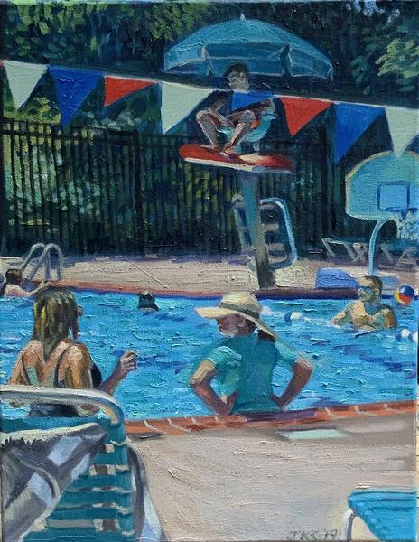 Neighborhood Pool Conversation