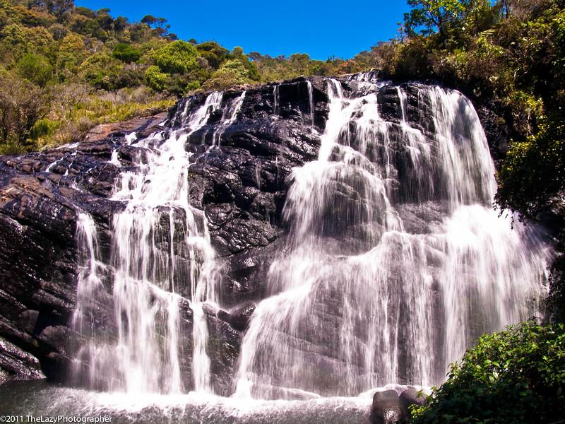 Baker Falls - the gentle cascade