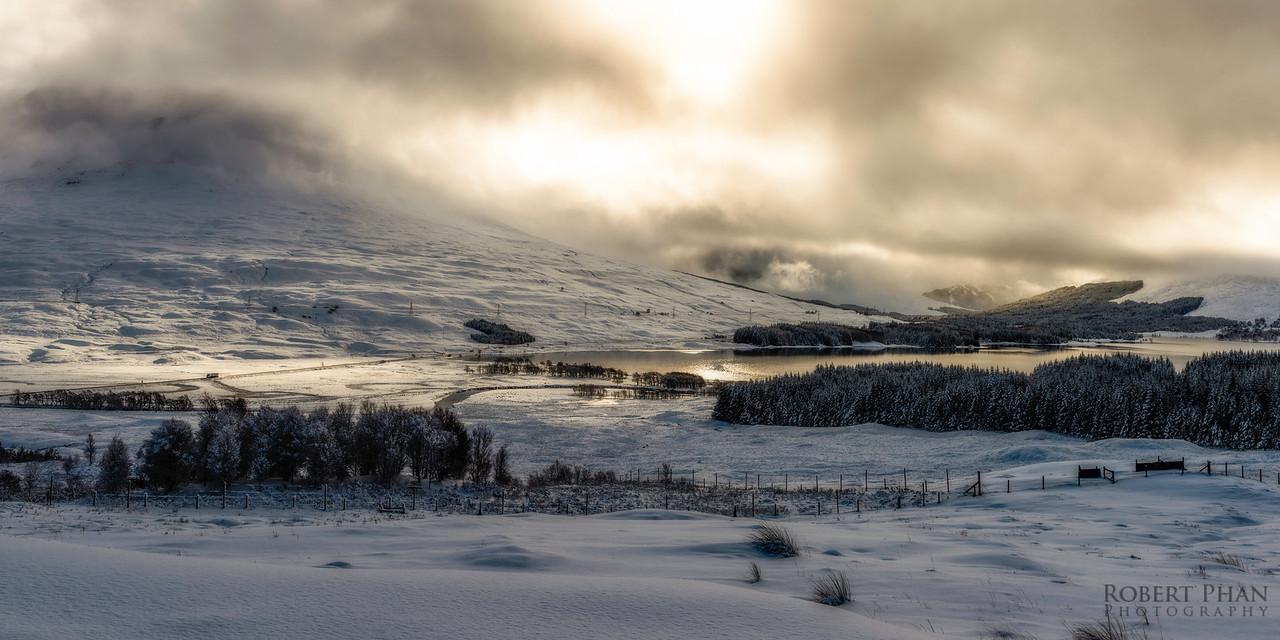Loch Tulla Pano