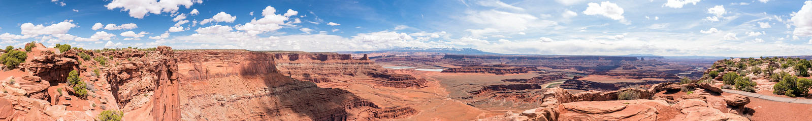 Lookout from Dead Horse Point