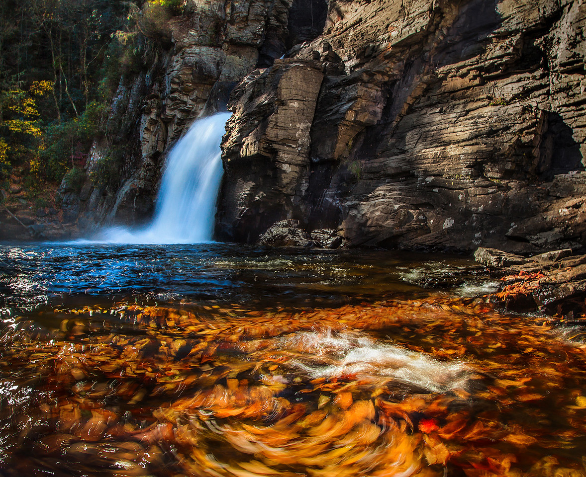 Autumn Linville Falls