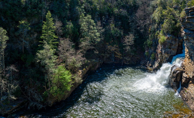 Linville Falls - Linville Gorge Wilderness - NC - Panorama-2