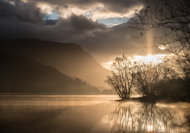 Misty Morning, Llanberis