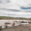 Maidens Harbour and Village Near Girvan Scotland.