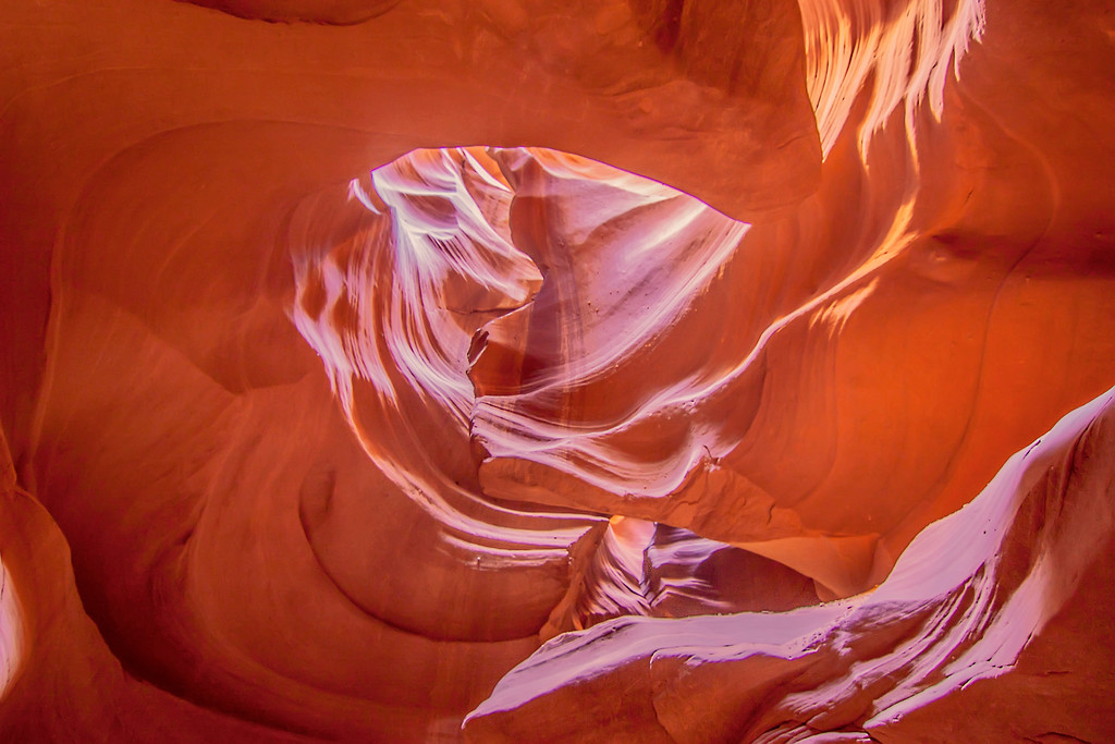 The Heart of The Antelope Canyon, Page AZ