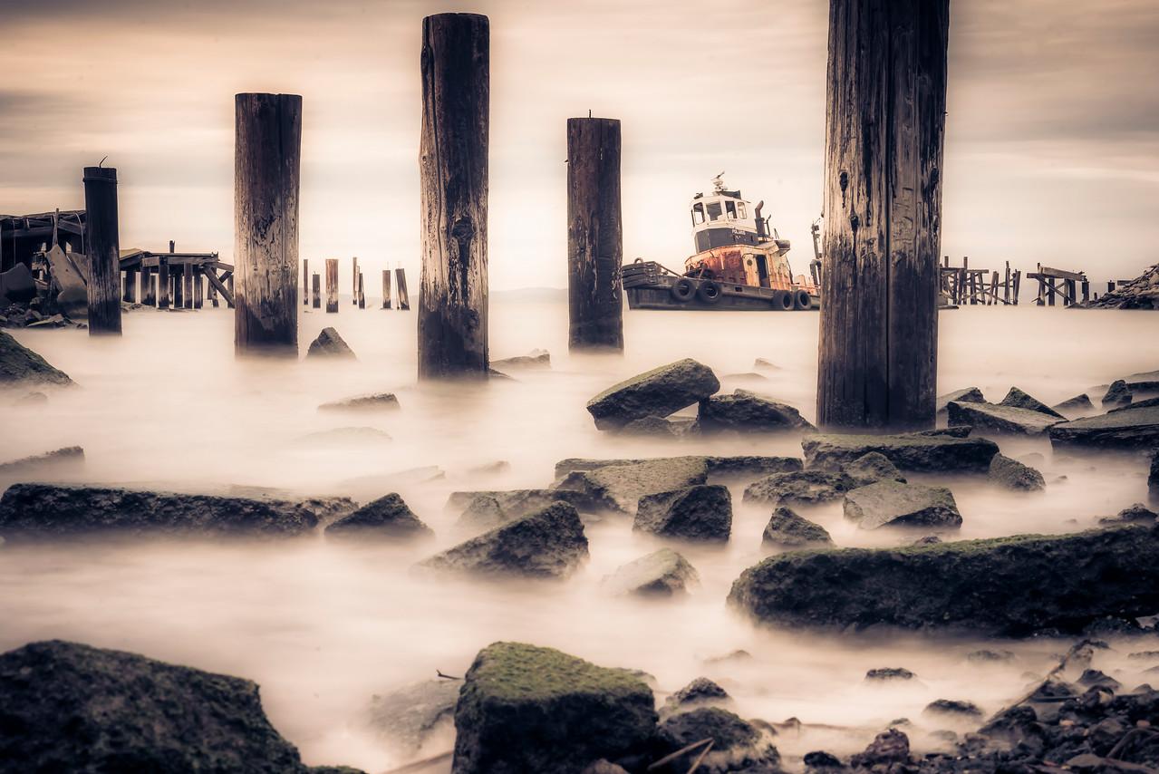 Abandoned Tug Boat