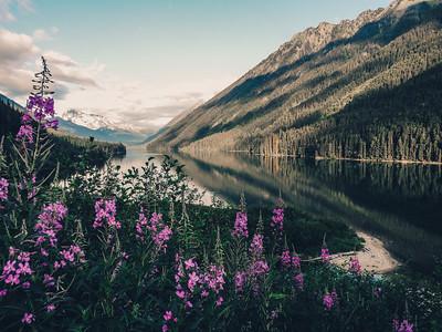 Duffy Lake at Sunrise