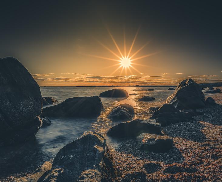 Sunset Hammonasset Beach