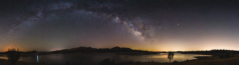 Milky Way Over New Hogan Lake