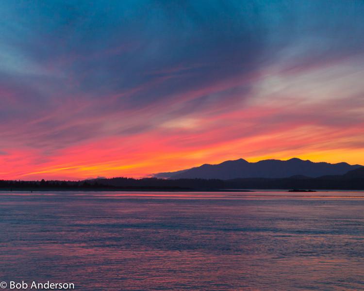 Sunset, Tofino