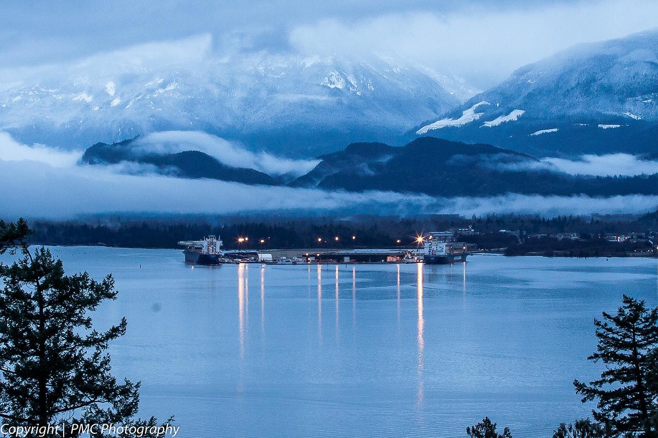 Howe Sound at Squamish, BC
