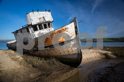 Day #27 - The Point Reyes Abandoned Boat