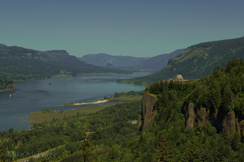 Vista house and the Gorge
