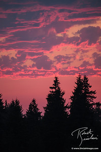 Pink and Blue Sammamish Sunset