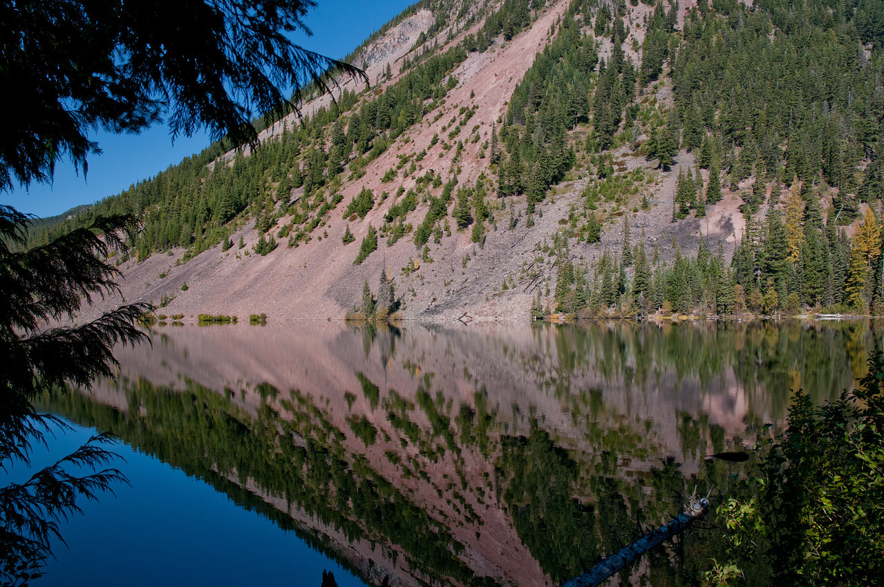 Dog Lake in a Reflective Mood