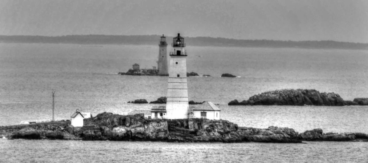 Boston Lighthouse #119. Boston Harbor
