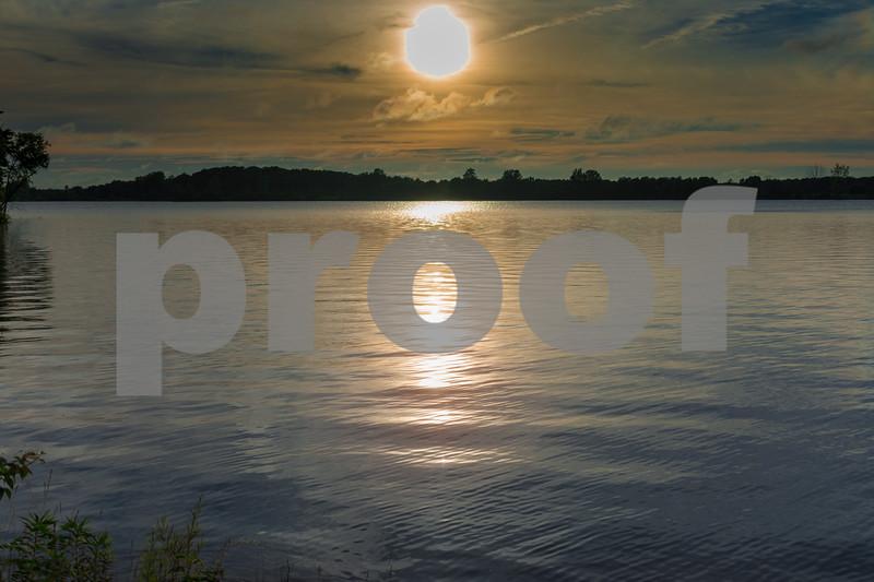Sunset on Summit Lake