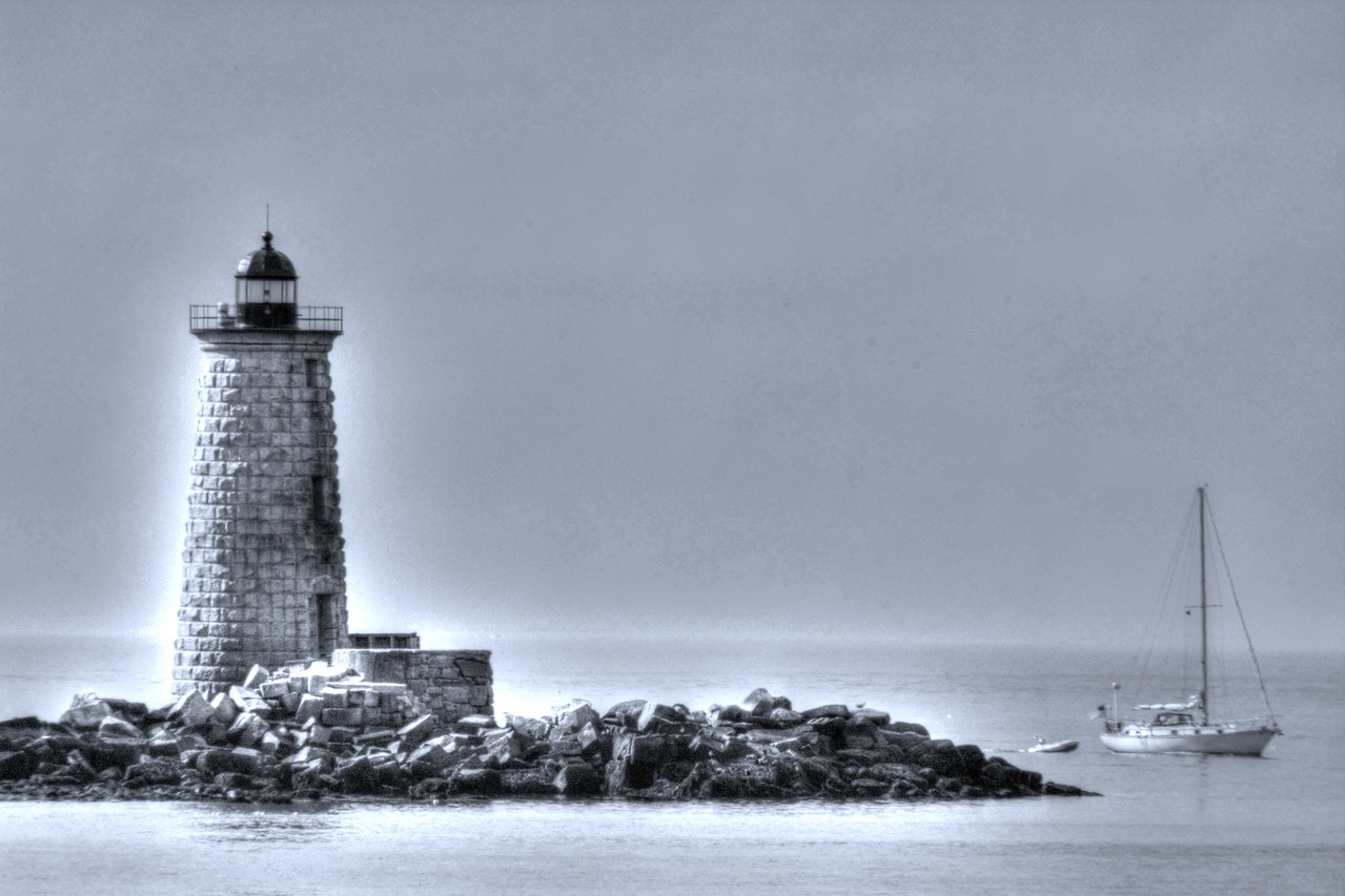 Whaleback Lighthouse #6. Fort Foster, Kittery Point, Maine