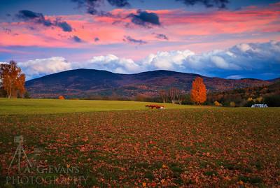 Mount Kearsarge at Sunset