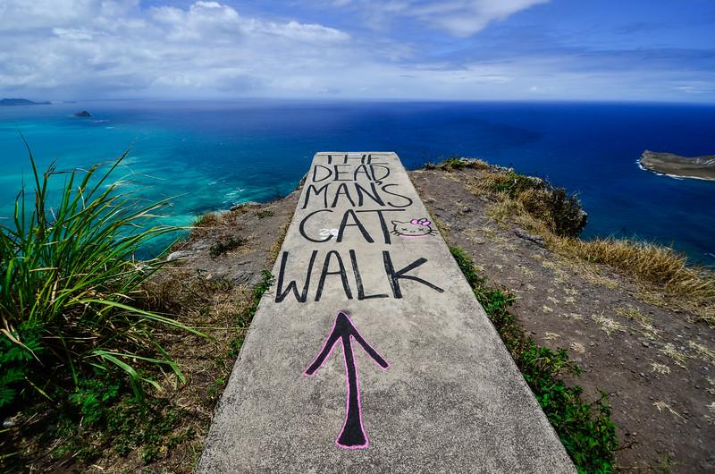 The Dead Men's Catwalk, Oahu