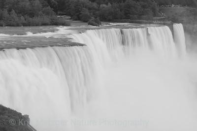 """Thundering Waters""  Niagara Falls, NY, American & Bridal Veil Falls"