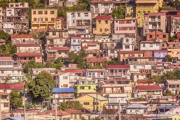 Hillside in Antigua