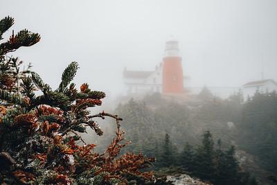 LIghthouse in the Fog