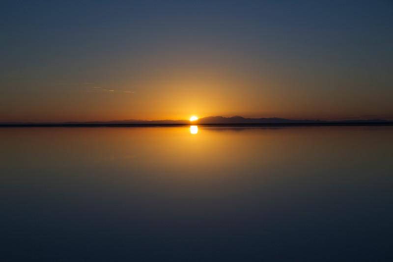 Dawn #2.  Bonneville Salt Flats, Utah