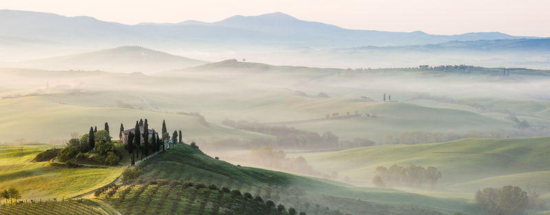 Belvedere, Val d'Orcia