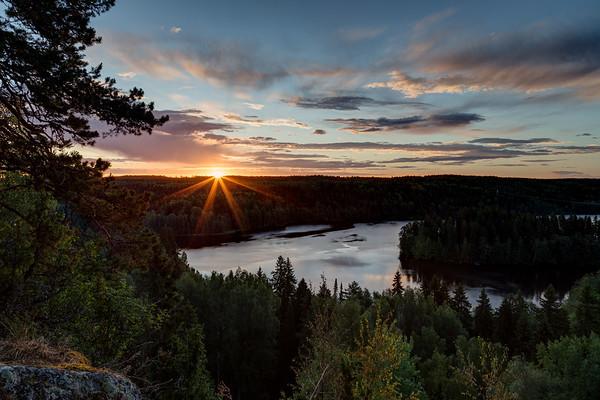 Sunrise at Aulanko