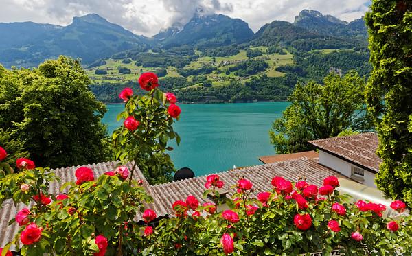 Walensee, St. Gallen, Switzerland