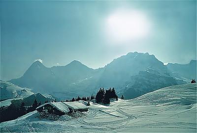 45  Eiger Monch and Jungfrau