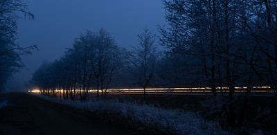 Long and frosty road ;-)