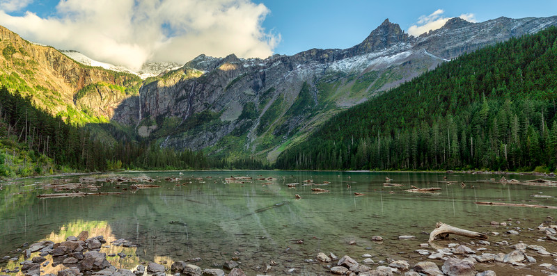 Avalanche Lake, Glacier National Park