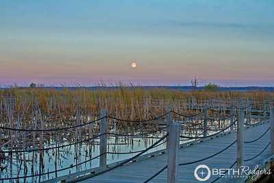 Moonrise at Horicon