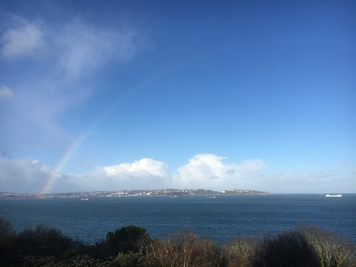 Rainbow over Torbay (2)