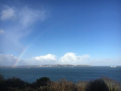 Rainbow over Torbay (2)
