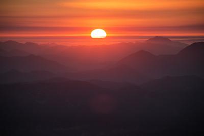 Sunset in Topanga Canyon