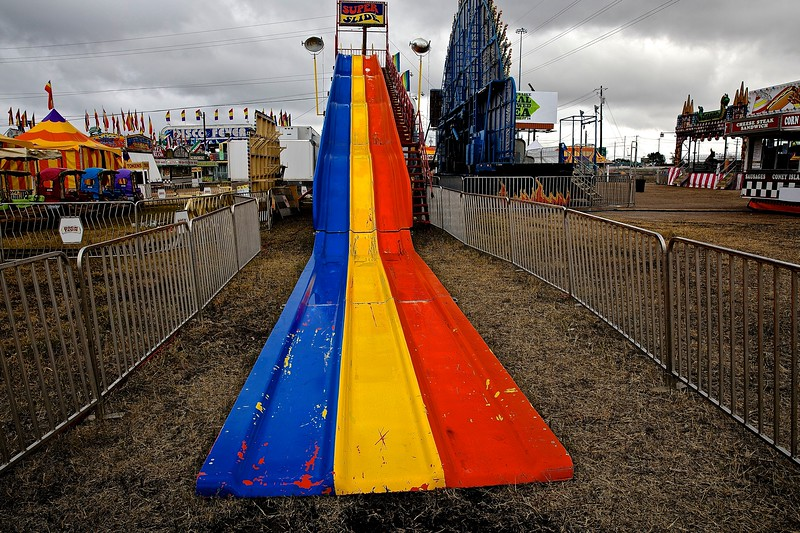 Super Slide. Carnival. Austin, Texas