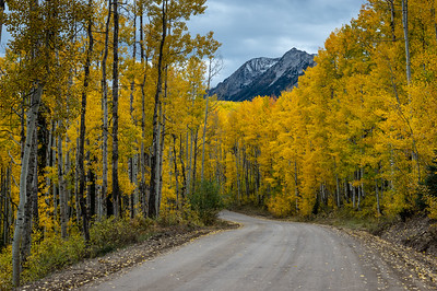 Kebler Pass Road, Colorado