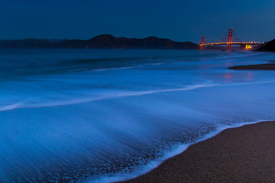 From Baker Beach, 11-18-12, before sunrise.